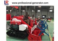 Mini Rice Harvesting Machines , Small Grain Combine Harvester with Electric starting