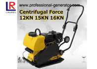 Portable Vibrating Plate Compactor , 20 M / Min Speed Honda Plate Compactor