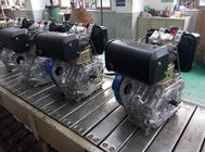 Single Cylinder Recoil starter 10HP Industrial Diesel Engines with 108% of Rated Rotary Speed