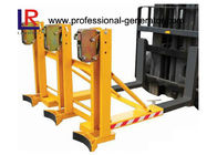 Safe Warehouse Material Handling Equipment Grab Mounted Drum Loader Forklift Attachment