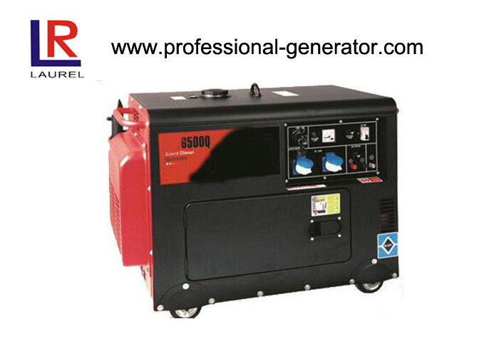 5kw 5kva Portable Diesel Generator Silent Manual or Electric Start