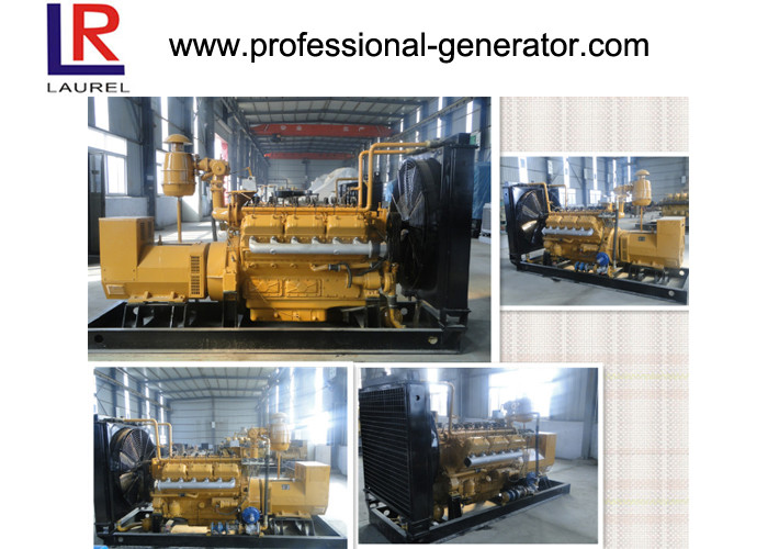 Manual Automatic Start 140kva Natural Gas Electricity Generator 112kw 4 Stroke