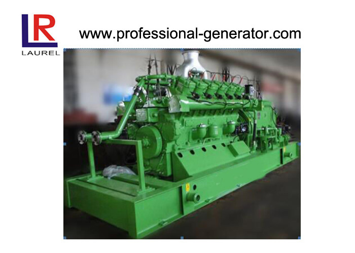 Forced Water Cooling Industrial Natural Gas Generator 500kva 50hz