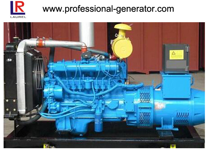 Deutz 120kw Biogas Power Natural Gas Generators Electrical Closed Circuit Water Cooling