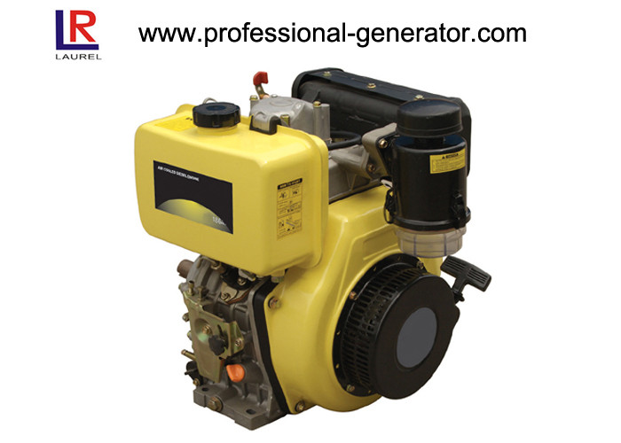Low Vibration Noise Industrial Diesel Engines Straight Line Four Stroke