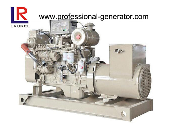 CCS BV 64 KW Marine Diesel Cummins Diesel Generator With 400V Rated Voltage