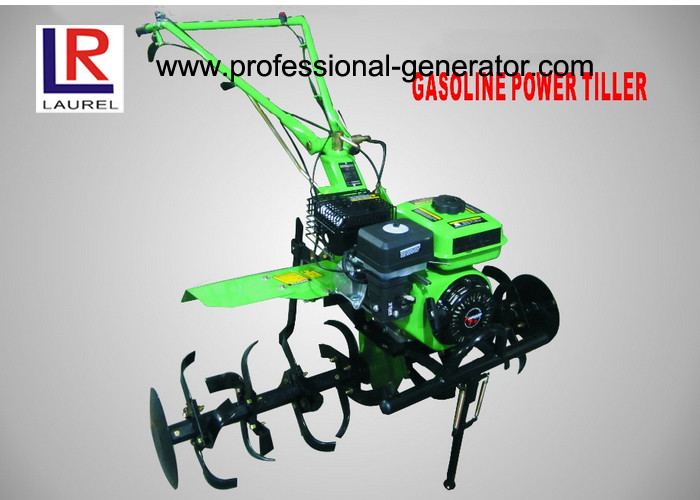 7HP Mini Gasoline Power Tractor Tillers and Cultivators for Farming with Gear Driving