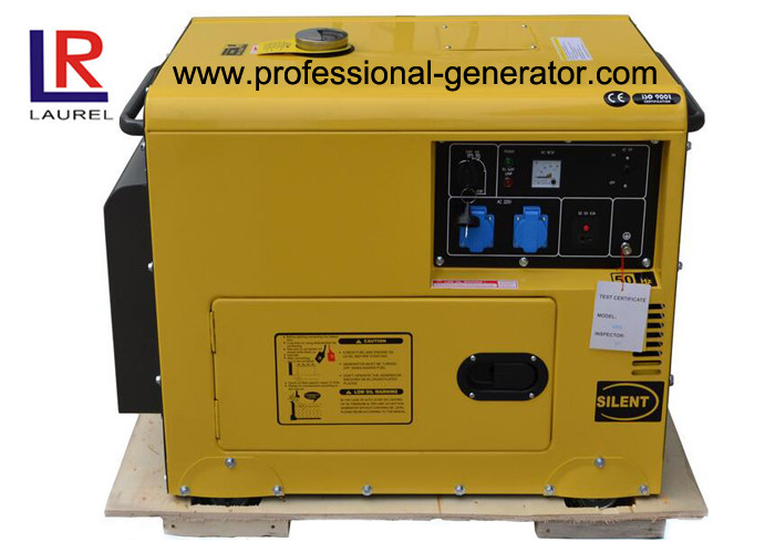 Soundproof Voltage Stability 5kVA Diesel Generator with OEM and Low Fuel Consumption