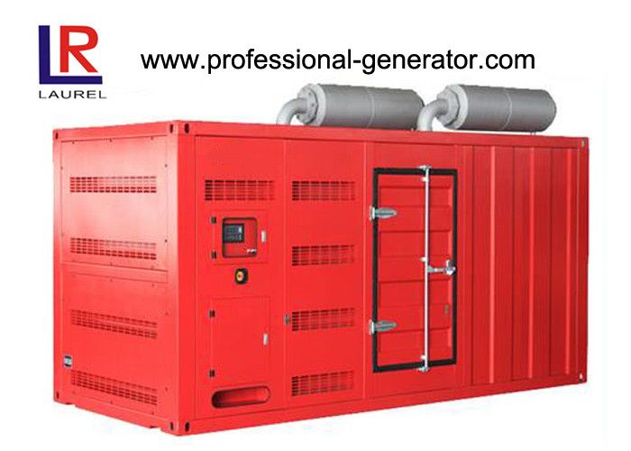 1500kVA / 1200kw Silent Diesel Generator Set with 12 Cylinders Perkins Engine