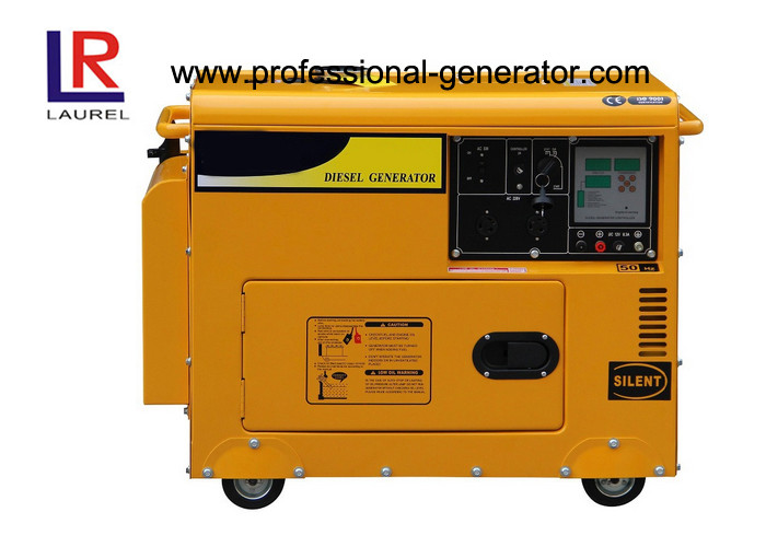 5kw Powerful Silent Diesel Generator with Recoil / Electric start , Single / Three phase