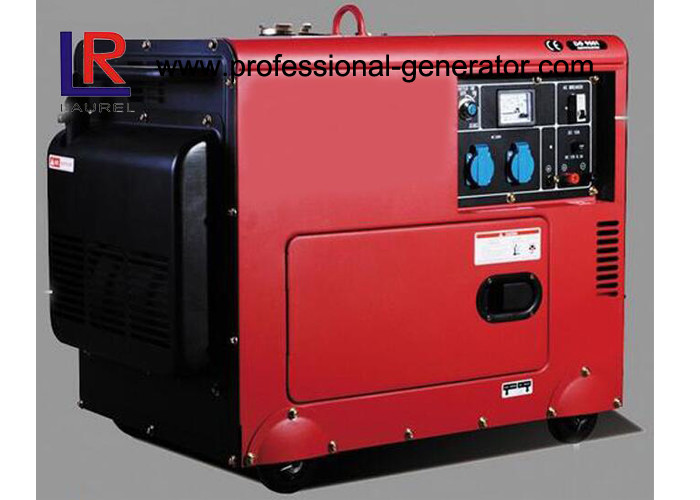 Battery Powered Electric Start 5kw Diesel Generator With Straight Shaft Coupling