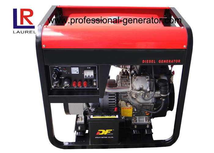 Air Cooled 9kw Diesel Driven Generator with Self - excited Constant Voltage