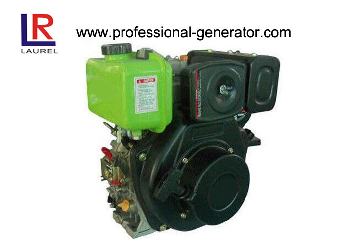 Single Cylinder Swirl Chamber Industrial Diesel Engines Kick Start / Electric Start for Automobile