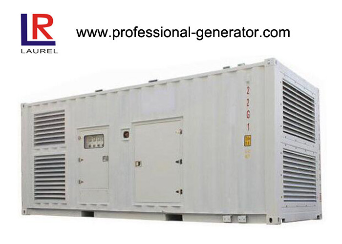 Diesel Engine Container Genset With Brushless Synchronous Alternator