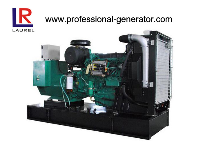 Open Type 6 Cylinder 165kw Open Diesel Generator Genset with Deepsea Controller , 3 Phase and 4 Wires
