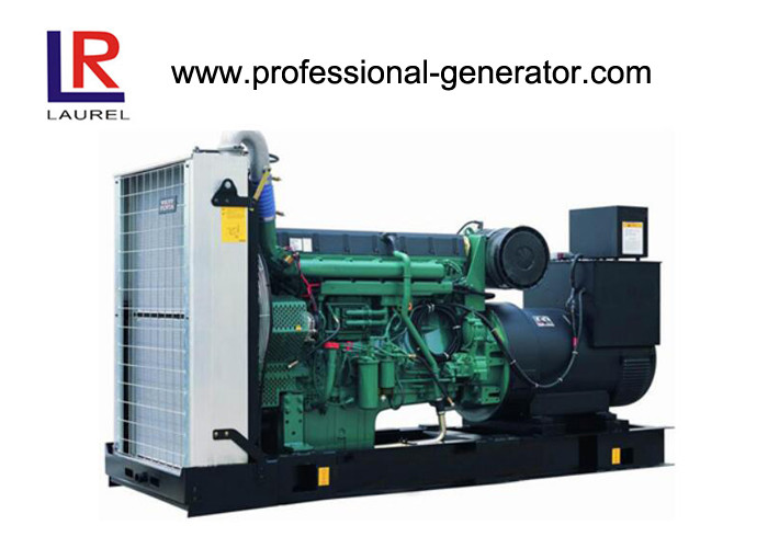 Free Energy 250kVA Electrical Starting Powered Diesel Turbo Generator with Forced Water Cooling Cycle