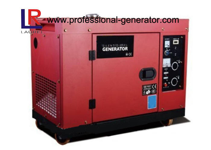 50 / 60HZ Single Phase Silent Diesel Generator Set With 188F 456CC Engine 12HP