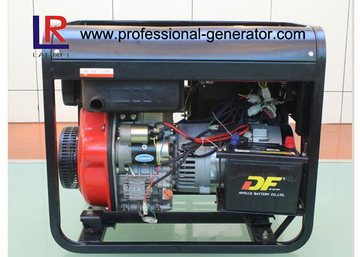 Agricultural Machinery Air Cooled Diesel Driven Generator With Electric Starting