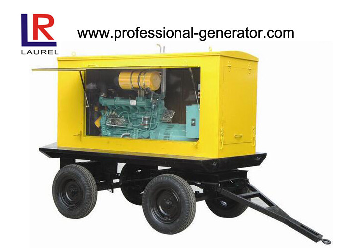 Portable 360kw 450kVA Mobile Diesel Generator with UK Perkins Engine / Four Stroke