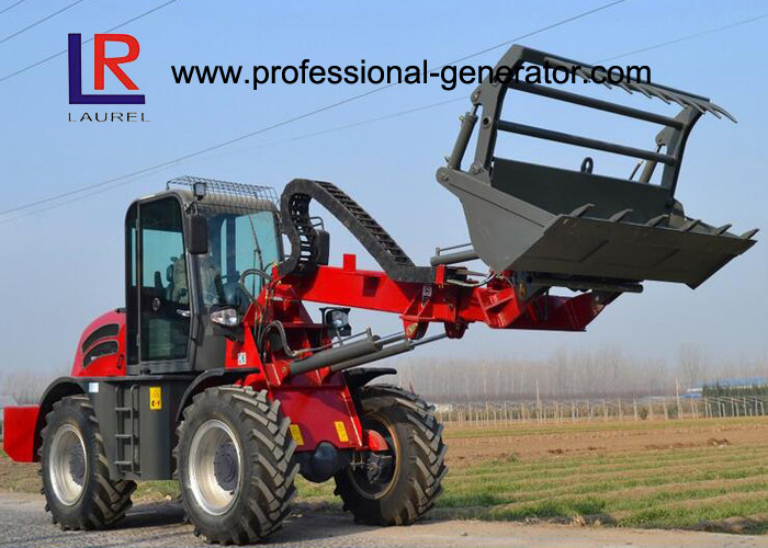 4-wheel Drive Heavy Construction Machinery With 3 Ton Load / 1.5 SQM Bucket